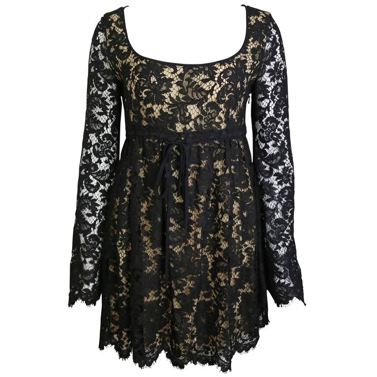 Tom Ford For Gucci Iconic Lace Dress