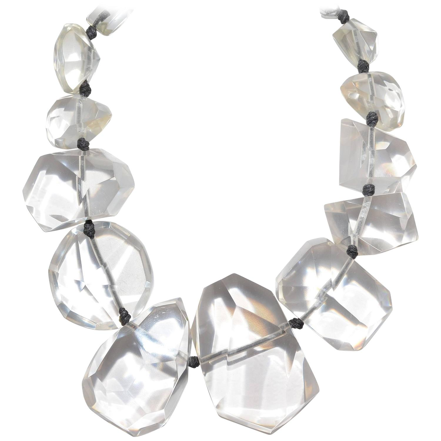 kenneth necklace clear p lane jay lucite link au prod