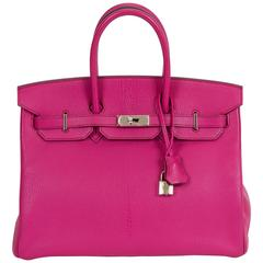 Hermès Rose Shocking Birkin Bag