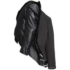 2011 COMME des GARÇONS black three layered jacket