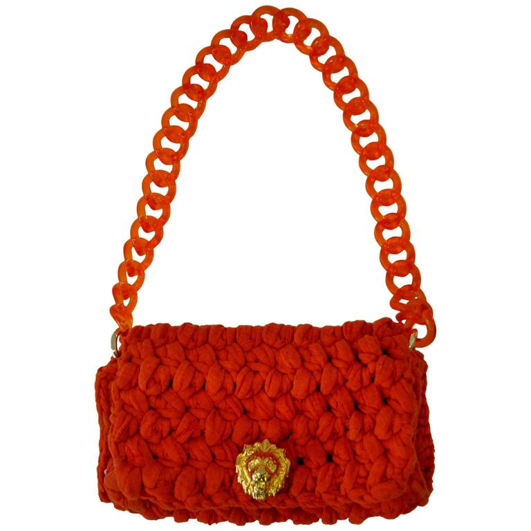 Fresh Fait Maison Designer Inspired Crocheted Handbag