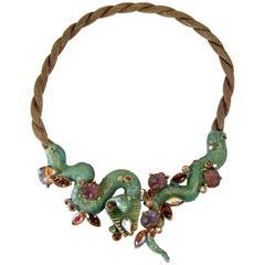 Vintage HAR Cobra Necklace