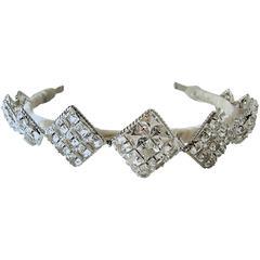 Robert Sorrell Magnificent Crystal Tiara/Headband