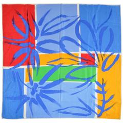 Vera Bold Multi-Color Abstract Silk Scarf