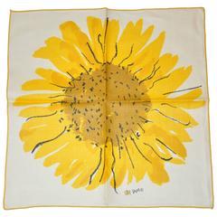 "Vera Bold ""Sunflower"" Linen Napkin"