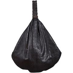 Chanel Large Black King Python Hobo Bag, c. 2007