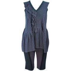 MARNI Draped Knit Short Set Size 38