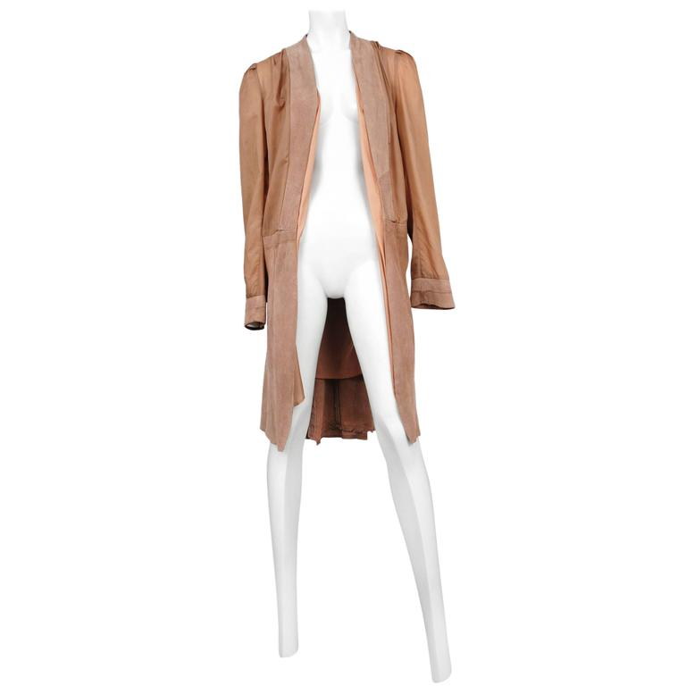 Margiela Artisanal Lining Coat  For Sale