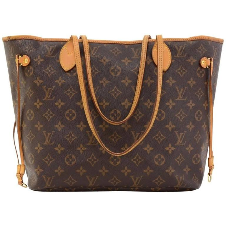 ddefdedf4a91 ... louis vuitton neverfull mm monogram