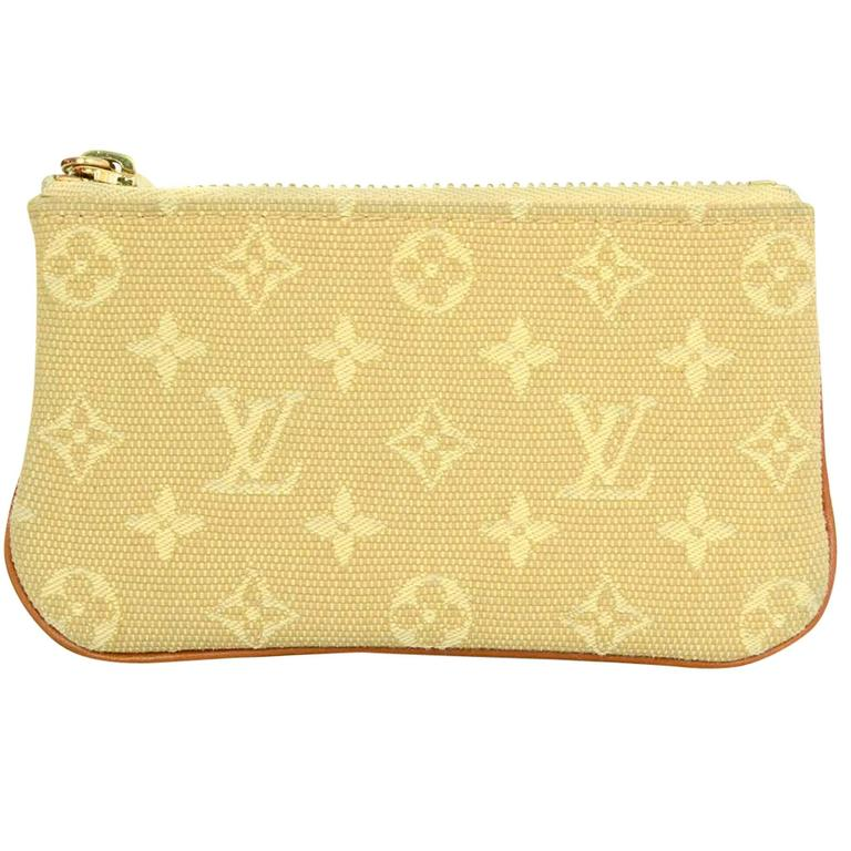 dbc1cdf98aa2 Louis Vuitton Monogram Mini Lin Coin Purse  Key Holder For Sale at ...