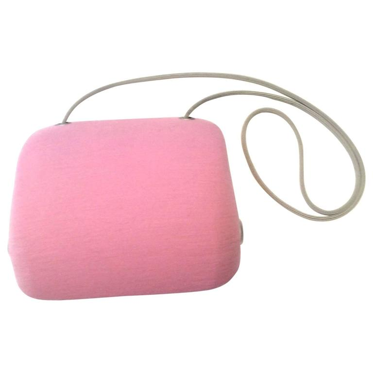 Chanel Pink Butt Bag  For Sale