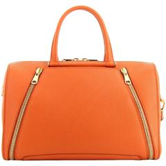 VBH Parker Apricot Vitello Calfskin Boston Tote