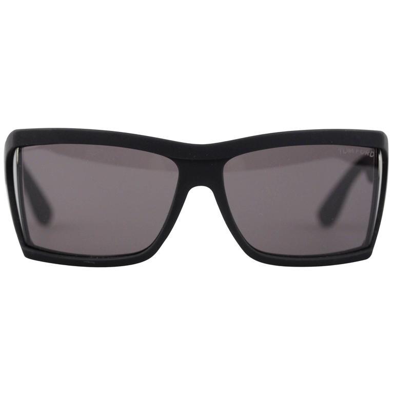 8daedbd2e6 TOM FORD Eyewear Matte Black SUNGLASSES SASHA TF 401 02A 59 13 Side ...