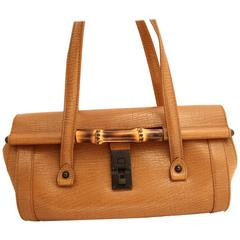 Gucci by Tom Ford Bambou Leather Bag
