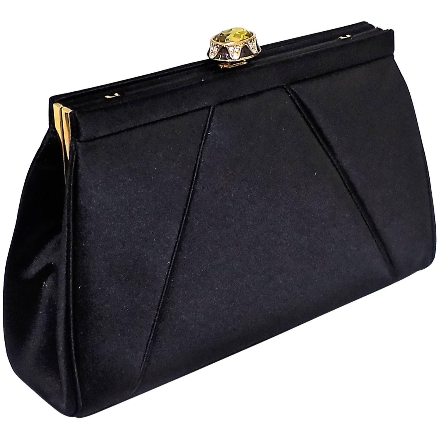 Vintage Judith Leiber Evening bag No 81862 with Large ...