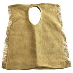 "Rare Issey Miyake Linen Oversized Handbag Japan Giant 33"" Straw Bag"