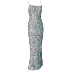 RANDOLPH DUKE Gown Exquisite Sequins Colours  6
