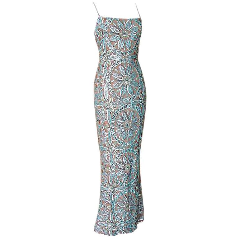 Randolph Duke Gown Exquisite Sequins Colours  6