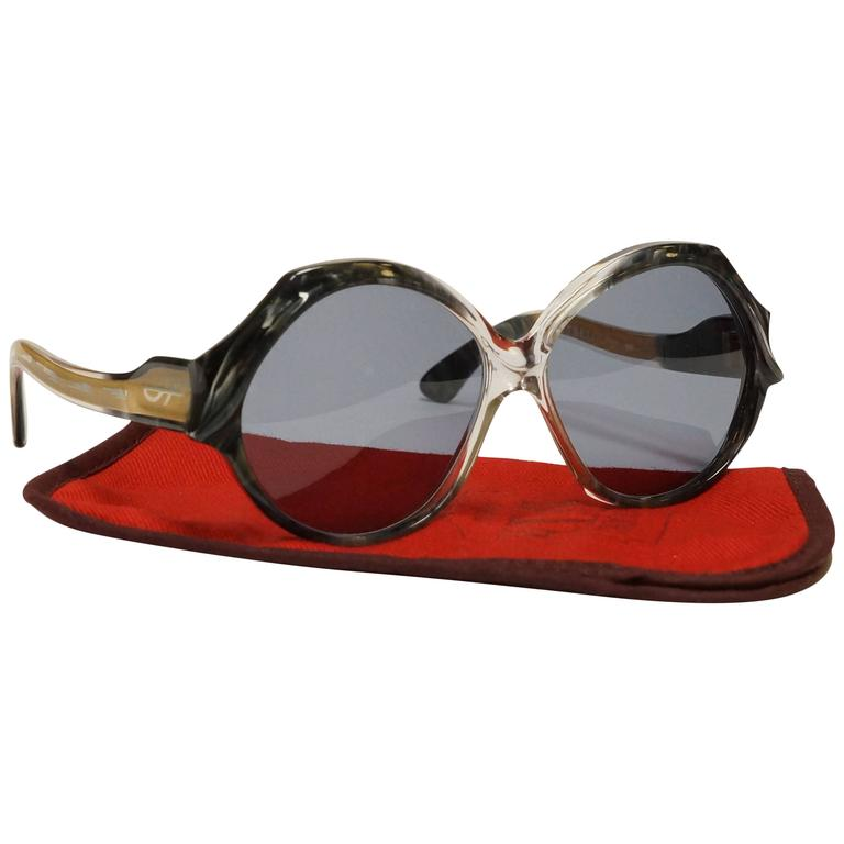 70s French Vintage Sunglasses by Jacques Fath