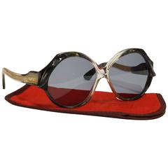 70s French Vintage Sunglasses by Jacques Fath - model Esterel/7