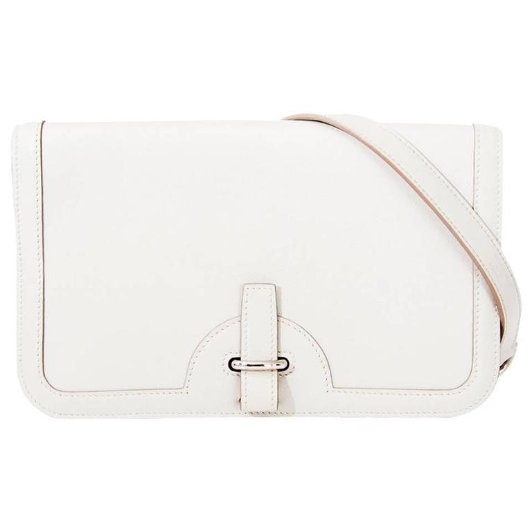 Hermes Chaine D'ancre Gris Perle Swift  For Sale