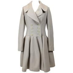 Alaïa Cream Cashmere Coat