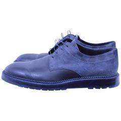 Louis Vuitton Daim and monogram Damier Graphite Canvas shoes. Size 42,5