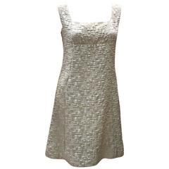 60s Ivory Babydoll  Dress
