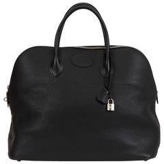 Hermès Ex-Large Travel Black Bolide Bag