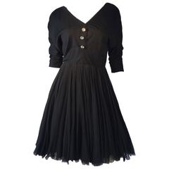 Galanos Cocktail Dress, 1950s