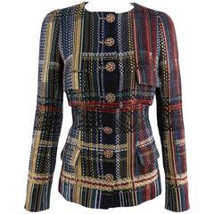Chanel 15C Dubai 2pc Fantasy Tweed Ensemble - Jacket