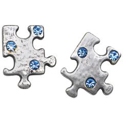 BillyBoy* Puzzle Piece Earrings