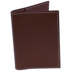 brand new hermes constance long wallet epsom bamboo phw