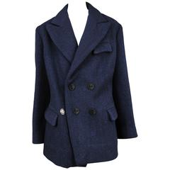 Martin Margiela Blue Doll Coat