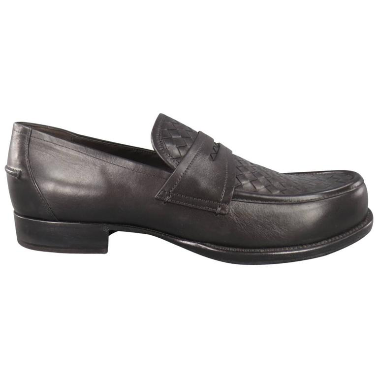 Loafers for Men On Sale, Black, Leather, 2017, 7 7.5 8.5 Bottega Veneta