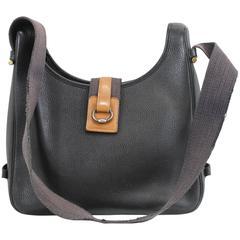 Vintage Tsako Hermes Bag in Grained Togo Leather. 1986 (marked P)