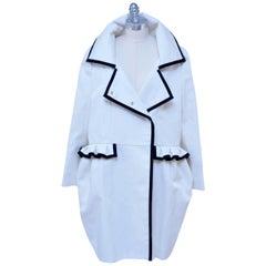 Stefano Pilati For YSL Yves Saint Laurent Resort 2010 Coat  NEW
