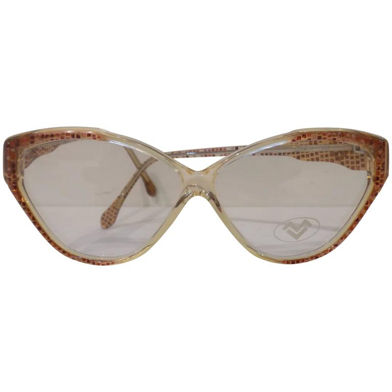 Mario Valentino fram - glasses 1