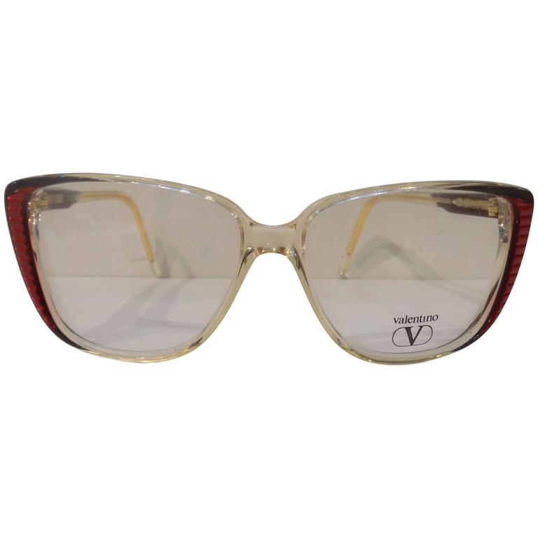Valentino Glasses Frame : Valentino Frame Glasses at 1stdibs