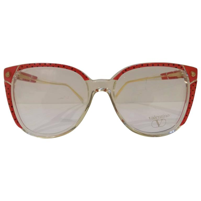 Valentino Glasses Frame : 1990s Valentino Frame glasses For Sale at 1stdibs
