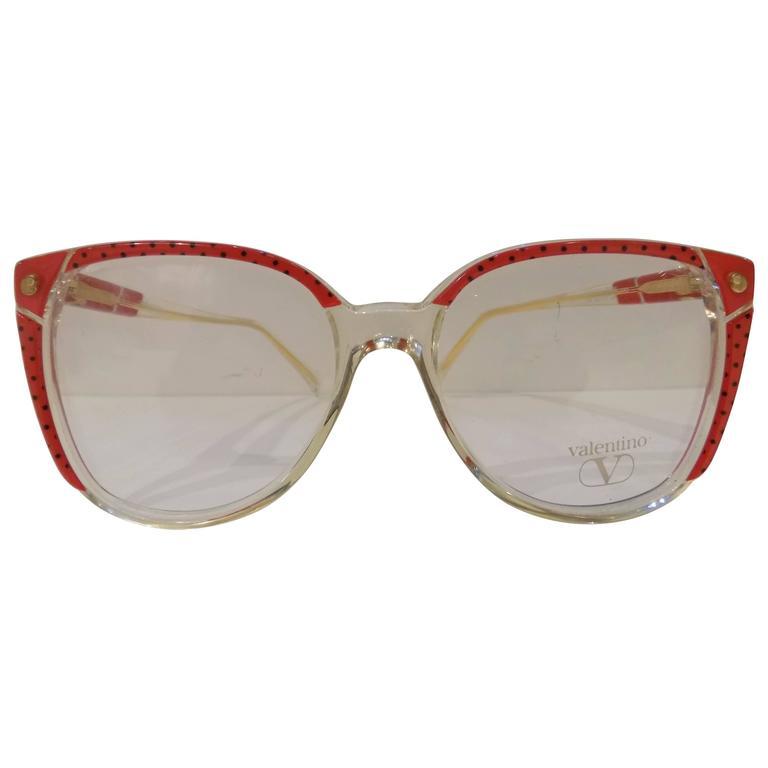 1990s Valentino Frame glasses For Sale at 1stdibs