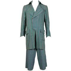 Worlds End mens pantsuit, pirate collection, circa 1981