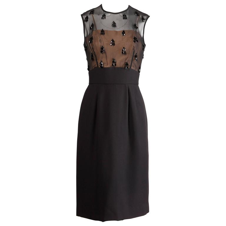 Vintage Beaded Formal Dresses