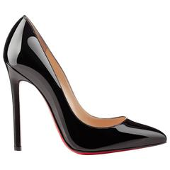 Christian Louboutin NEW & SOLD OUT Black Patent Leather High Heels Pumps in Box