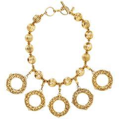 Yves Saint Laurent Circle Necklace