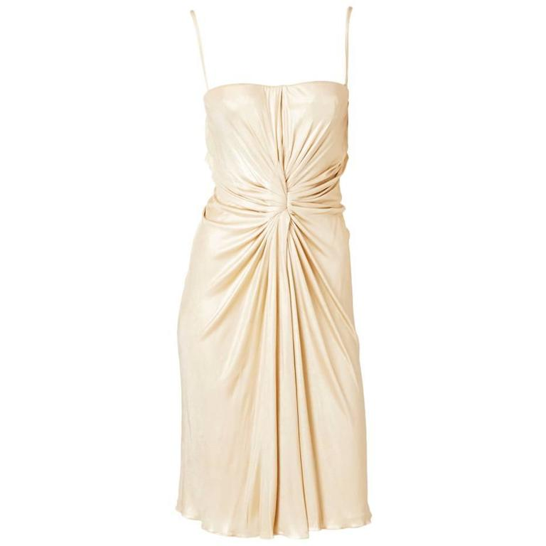 Christian Dior Draped Cocktail Dress 1