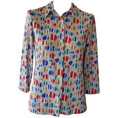 Late 1960s Vera Op Art Shirt