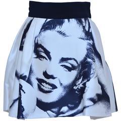 Marilyn Monroe Print  Dolce & Gabbana  Skirt  New 38