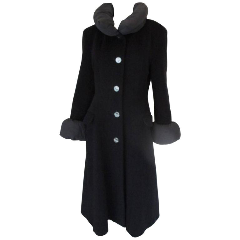 "Moschino ""cheap and chic"" 100% wool coat"