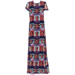 "Vivienne Tam ""Mao"" printed Dress, 1995"